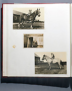 page from family photo album 1950s 1960s Holland