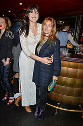 Left to right, DAISY LOWE and JOSEPHINE DE LA BAUME at a party to celebrate the UK launch of French fashion label ba&sh at The Arts Club, Dover Street, London on 15th March 2016.