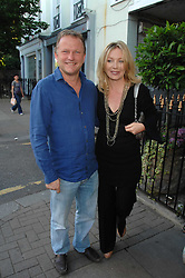 KIRSTY YOUNG and NICK JONES at at the launch party for Imogen Edwards-Jones's new book Beach Babylon held at Beach Blanket Babylon, Ledbury Road, London on 18th July 2007.<br /><br />NON EXCLUSIVE - WORLD RIGHTS