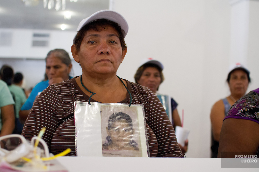 The caravan of mothers of central american migrants meet local elect authorites in Villahermosa, capital of southeastern state of Tabasco, state considered as one of the main entry points of central american migrants into Mexico, and is the first place in kidnapping and vanishing of migrant people. (Photo: Prometeo Lucero)