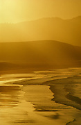 Golden Sunrayat Sunrise over Drakes Beach,Point Reyes National Seashore, California