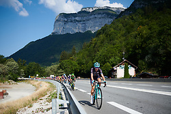 Anna Christian (GBR) at La Course by Le Tour de France 2018, a 112.5 km road race from Annecy to Le Grand Bornand, France on July 17, 2018. Photo by Sean Robinson/velofocus.com