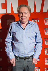 "© Licensed to London News Pictures. 30/09/2013. London, England. Pictured: Lord Andrew Lloyd Webber. Photocall with the main cast and creatives behind the new Andrew Lloyd Webber Musical ""Stephen Ward"". The musical is due to premiere in the West End in December 2013. Photo credit: Bettina Strenske/LNP"
