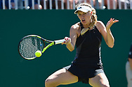 Caroline Wozniacki of Denmark during the Nature Valley International at Devonshire Park, Eastbourne, United Kingdom on 27 June 2018. Picture by Martin Cole.