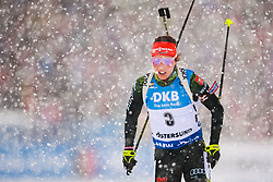 March 10, 2019 - –Stersund, Sweden - 190310 Quentin Fillon Maillet of France during the Women's 10 km Pursuit during the IBU World Championships Biathlon on March 10, 2019 in Östersund..Photo: Petter Arvidson / BILDBYRÃ…N / kod PA / 92254 (Credit Image: © Petter Arvidson/Bildbyran via ZUMA Press)