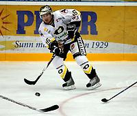 Ishockey GETLigaen 12.10.08  Lørenskoghallen Lørenskog - Stavanger Oilers<br /> <br /> Brendan Brooks<br /> <br /> Foto: Eirik Førde
