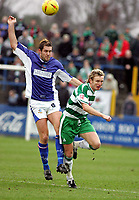 Fotball<br /> England 2004/2005<br /> Foto: SBI/Digitalsport<br /> NORWAY ONLY<br /> <br /> Macclesfield Town v Yeovil Town, Macclesfield. Coca Cola League Two. 05/02/2005. <br /> <br /> Jon Parkin and Terry Skiverton
