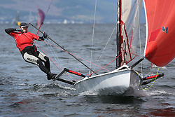 Peelport Clydeport, Largs Regatta Week 2014 Largs Sailing Club based at  Largs Yacht Haven with support from the Scottish Sailing Institute & Cumbrae.<br /> <br /> Fast Handicap, MUSTO SKIFF, John Reekie