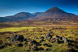 Landscape on Isle of Skye near Broadford looking towards Beinne na Caillich<br /> <br /> (c) Andrew Wilson | Edinburgh Elite media