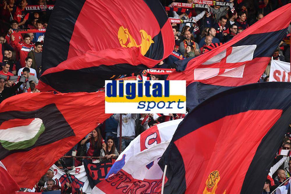 tifosi Genoa Supporters <br /> Genova 02-05-2016 Football Calcio Serie A 2015/2016  Genoa - AS Roma foto Image Sport/Insidefoto