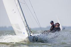 Dragon Gold Cup, Final Day, 7-12 September 2014, Medemblik, The Netherlands