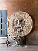 Mouth of Truth at the Basilica di Santa Maria in Cosmedin, Rome, Italy