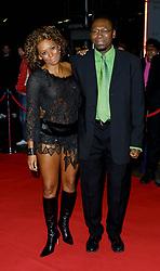 Mel B & Dad at the TOTP's Awards,Manchester