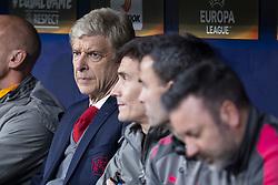 May 3, 2018 - Madrid, Spain - Arsenal FC coach Arsene Wendger during Europa League Semi Finals First Leg match between Atletico de Madrid and Arsenal FC at Wanda Metropolitano in Madrid, Spain. May 03, 2018. (Credit Image: © Coolmedia/NurPhoto via ZUMA Press)
