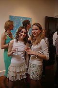Milly Pettman and Elisabeth Bourne. Adam Ball ' All that Glitters' private view hosted by Manfredi della Gherardesca and Patrizia Papachristidis .  Charles St. London. 19 June 2005. ONE TIME USE ONLY - DO NOT ARCHIVE  © Copyright Photograph by Dafydd Jones 66 Stockwell Park Rd. London SW9 0DA Tel 020 7733 0108 www.dafjones.com