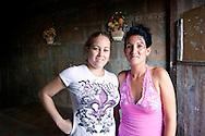 Women in Gibara, Holguin, Cuba.
