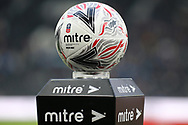 The official match ball ahead of the The FA Cup 3rd round match between Derby County and Southampton at the Pride Park, Derby, England on 5 January 2019.