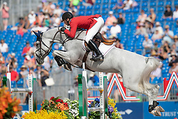 Ward Mclain, USA, Clinta<br /> World Equestrian Games - Tryon 2018<br /> © Hippo Foto - Dirk Caremans<br /> 20/09/2018