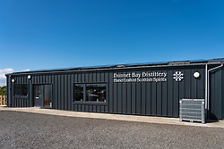 Dunnet Bay Distillery in Caithness on  the North Coast 500 scenic driving route in northern Scotland, UK