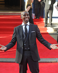 "© Licensed to London News Pictures. 18/05/2014. London, UK. The Arqiva BAFTA TV Awards Red Carpet Arrivals. . Persons Pictured: Mohamed ""Mo"" Farah. Photo credit : Julie Edwards/LNP"