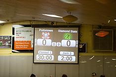 PRDR vs Diamond State Roller Girls 10-11-14