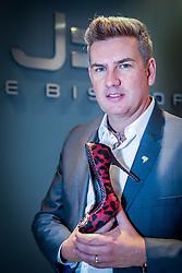 Jorge Bischoff na Couromoda 2014 - Feira Internacional de Calçados, Artigos Esportivos e Artefatos de Couro que acontece de 13 a 16 de janeiro, em São Paulo, no Parque de Exposições do Anhembi. FOTO: Jefferson Bernardes/ Agência Preview