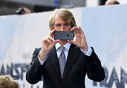 Director Michael Bay attending the World Premiere of Transformers: The Last Knight, held at Cineworld Leicester Square, London. Photo credit should read: Doug Peters/EMPICS Entertainment