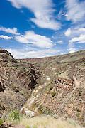 Vertical of Rio Grande River, Taos County