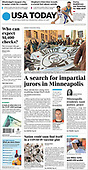 March 10, 2021 (USA): Front-page: Today's Newspapers In United States