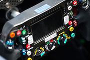 May 25-29, 2016: Monaco Grand Prix. Nico Rosberg  (GER), Mercedes  steering wheel
