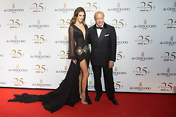 Alessandra Ambrosio and Fawaz Gruosi attends the De Grisogono party during the 71st annual Cannes Film Festival on May 15, 2018 in Cannes, France. Photo by Nasser Berzane/ABACAPRESS.COM
