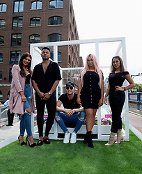 Cast of Geordie Shore 'Land of Hope Geordie' series 15 take the Shag Pad on Tour on Wednesday 16th August to celebrate the launch of series 15 on August 15th, 2017 at  St Katherine's Way, London. <br /><br />16 August 2017.<br /><br />Please byline: Vantagenews.com