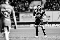 Toulon's Ma'a Nonu<br /> <br /> Photographer Craig Thomas/Replay Images<br /> <br /> European Rugby Champions Cup Round 5 - Scarlets v Toulon - Saturday 20th January 2018 - Parc Y Scarlets - Llanelli<br /> <br /> World Copyright © Replay Images . All rights reserved. info@replayimages.co.uk - http://replayimages.co.uk
