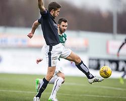 Falkirk's Will Vaulks. <br /> Falkirk 1 v 1 Hibernian, Scottish Championship game played 17/1/2015 at The Falkirk Stadium.