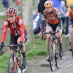 29-02-2020: Wielrennen: Omloop Nieuwsblad: Ninove; floortje mackaij