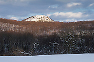 Sugar Loaf, New York - A view of snowy Sugar Loaf Mountain on the afternoon of Feb. 14, 2014.