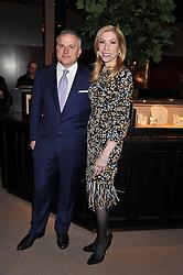 JOHN & DARCY RIGAS he is Chairman of Asprey at the Asprey BAFTA Party held at Asprey, 167 New Bond Street, London on 11th February 2012.