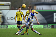 Bristol Rovers Midfielder, Ollie Clarke (8) and Oxford United Midfielder, Ryan Ledson (8) during the EFL Sky Bet League 1 match between Oxford United and Bristol Rovers at the Kassam Stadium, Oxford, England on 10 February 2018. Picture by Adam Rivers.