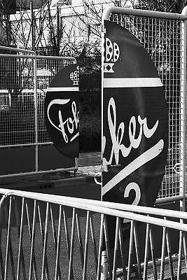 Nederland, Amsterdam, schiphol,oost, 15-2-1996Vliegtuigfabrikant Fokker is in zwaar weer en wordt mogelijk gesloten. Het moederconcern Daimler Benz dreigt de stekker eruit te trekken. Koninklijke vliegtuigfabriek Fokker is een bealngrijke Nederlandse kennisindustrie.FOTO: FLIP FRANSSEN/ HOLLANDSE HOOGTE