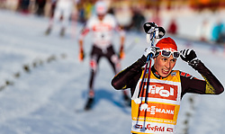 28.01.2017, Casino Arena, Seefeld, AUT, FIS Weltcup Nordische Kombination, Seefeld Triple, Langlauf, im Bild Eric Frenzel (GER) // Eric Frenzel of Germany reacts after Cross Country Gundersen Race of the FIS Nordic Combined World Cup Seefeld Triple at the Casino Arena in Seefeld, Austria on 2017/01/28. EXPA Pictures © 2017, PhotoCredit: EXPA/ JFK