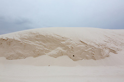 Sand dunes in White Sands National Park, New Mexico