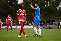 Jordan Keane. Colne FC 0-2 Stockport County FC. Pre-season friendly. 5.9.20