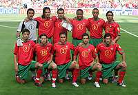 Fotball<br /> Euro 2004<br /> Portugal<br /> 12.06.2004<br /> Foto: Witters/Digitalsport<br /> NORWAY ONLY<br /> <br /> Portugal v Hellas 1-2<br /> <br /> Portugal EURO 2004<br /> hinten v.l. RICARDO - Fernando COUTO - PAULETA - Jorge ANDRADE - COSTINHA - RUI COSTA<br /> vorn v.l. Paulo FERREIRA - MANICHE - RUI JORGE - SIMAO - Luis FIGO