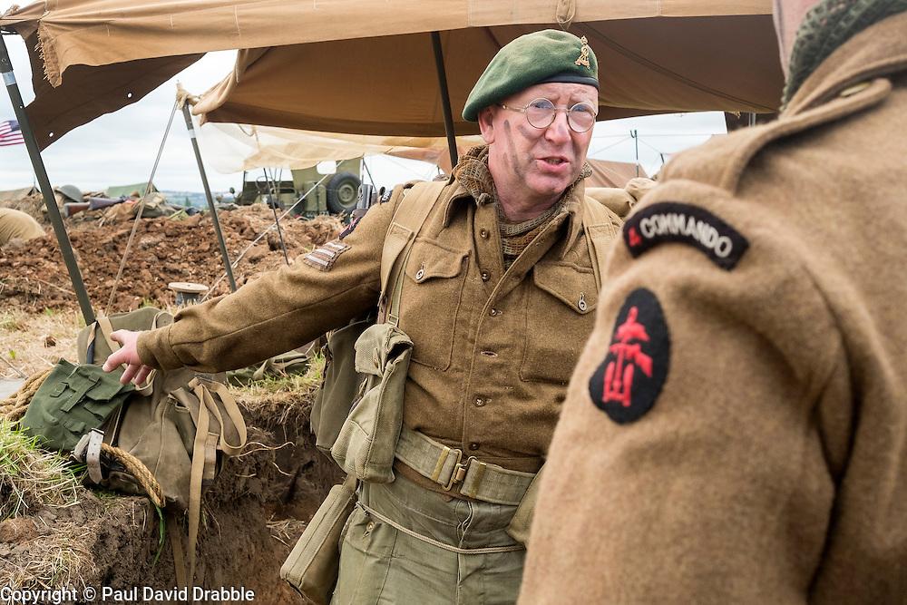 Number 4 Commando Living History<br />  17 July 2016<br />  Copyright Paul David Drabble<br />  www.pauldaviddrabble.photoshelter.com