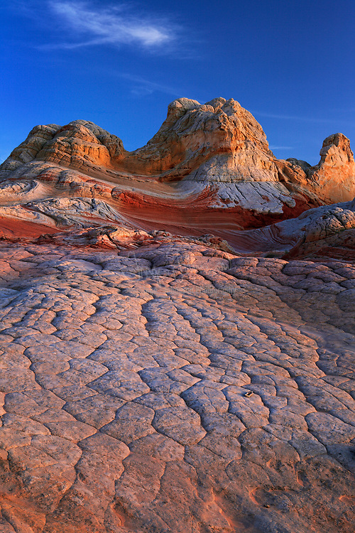 Rock formations in the White Pocket unit of the Vermillion Cliffs National Monument