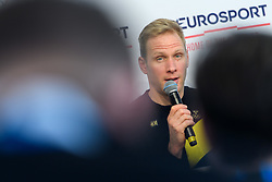 February 9, 2018 - Pyeongchang, SOUTH KOREA - 180209 Daniel Richardsson of Sweden during a press conference with the Swedish cross country skiing skiathlon team ahead of the 2018 Winter Olympics on February 9, 2018 in Pyeongchang..Photo: Carl Sandin / BILDBYRN / kod CS / 57999_278 (Credit Image: © Carl Sandin/Bildbyran via ZUMA Press)