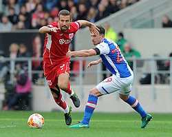 Gary O'Neil of Bristol City in action during the Sky Bet Championship match between Bristol City and Blackburn Rovers at Ashton Gate Stadium on 22 October 2016 in Bristol, England - Mandatory by-line: Paul Knight/JMP - 22/10/2016 - FOOTBALL - Ashton Gate Stadium - Bristol, England - Bristol City v Blackburn Rovers - Sky Bet Championship