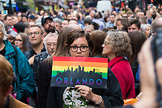 2016-06-13 Thousands attend LGBT vigil for Orlando victims in London's Soho