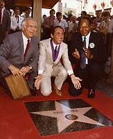 1984 Paul Anka at his Hollywood Walk of Fame ceremony