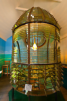 First order fresnel lens, Key West Lighthouse Museum, Key West, Florida Keys, Florida USA